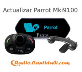 Cómo actualizar el Parrot Mki9100
